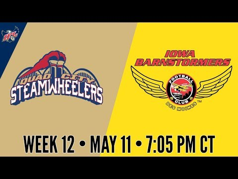 IFL Week 12 | Quad City Steamwheelers at Iowa Barnstormers
