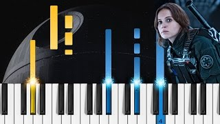 Your Father Would Be Proud (Rogue One: A Star Wars Story) Piano Tutorial