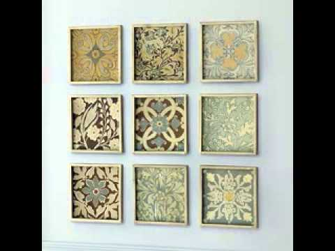 Easy DIY wall art projects ideas - YouTube