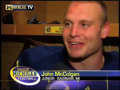 Michigan Football Players Score Their First Touchdowns