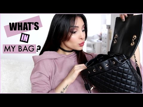 What's In My Bag ? J'ai Ma Maison Dans Mon Sac !