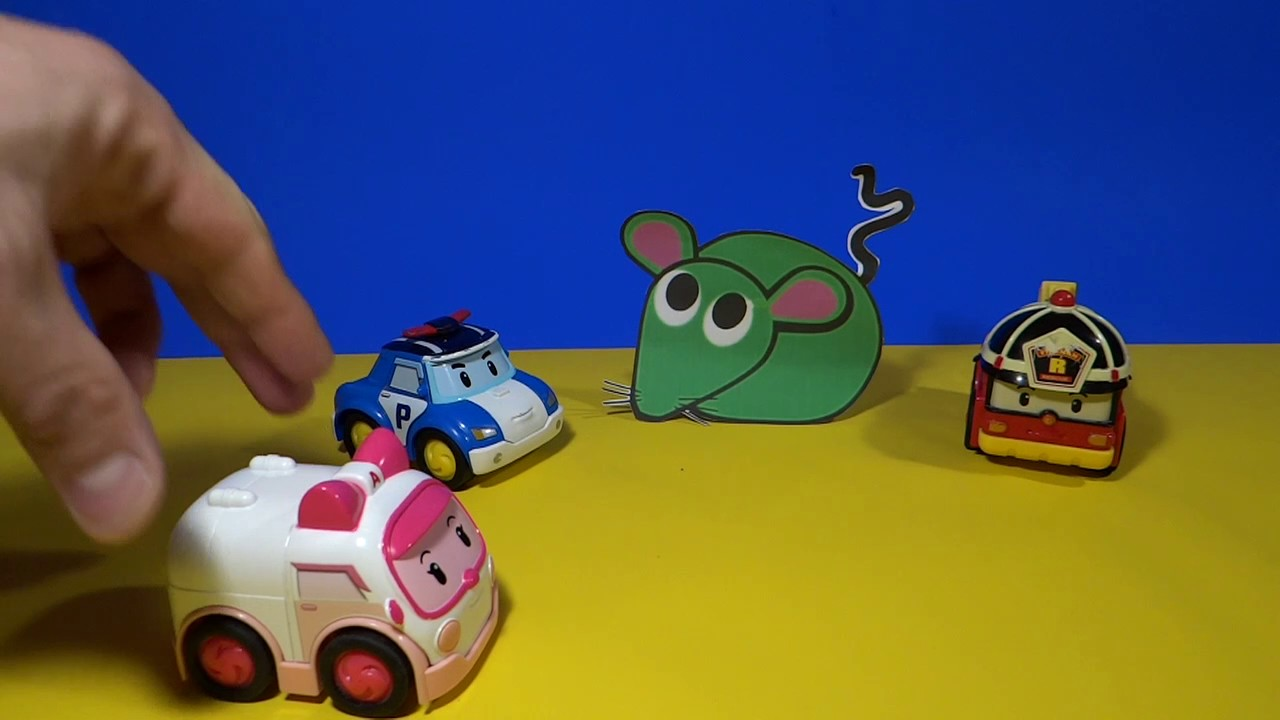 Robocar poli en fran ais la souris verte youtube - Poli robocar en francais ...
