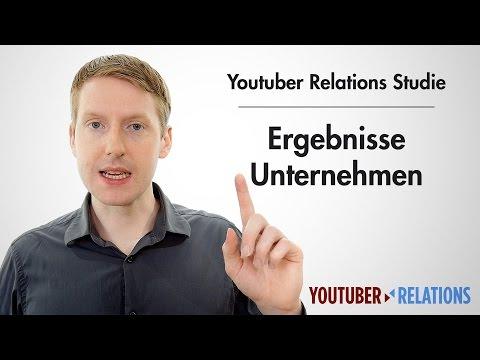 Youtuber Relations Studie - Teil 15: Ergebnisse der Befragung der Unternehmen