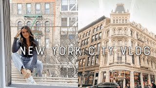 NYC chill day in my life: photoshoots, haul, life updates | vlog