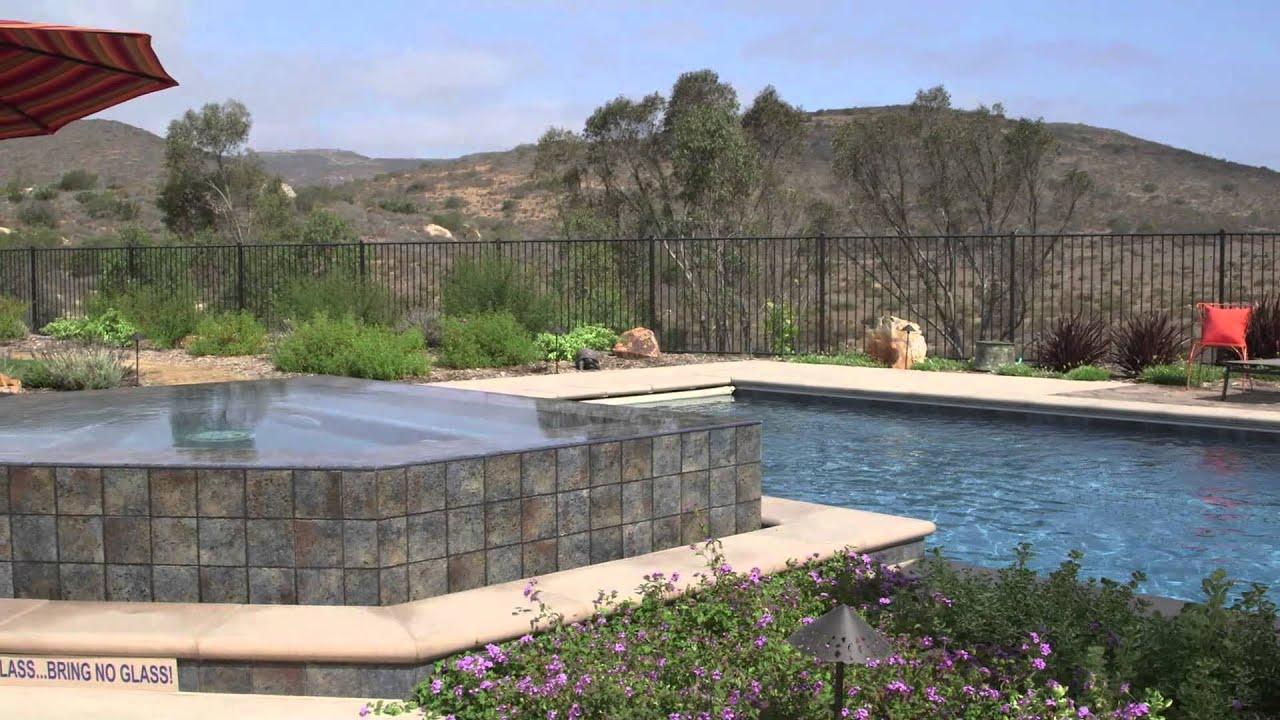 Polished Marble Pool Finish Hydrazzo Mediterranean Blue Youtube