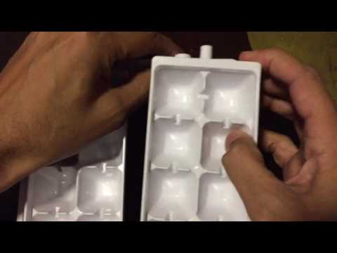 Fix spring twist ice cube tray
