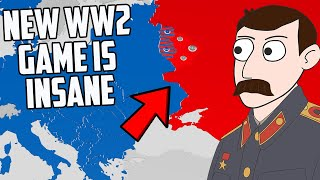 This New WW2 Strategy Game Is INSANE (Total Tank Simulator)