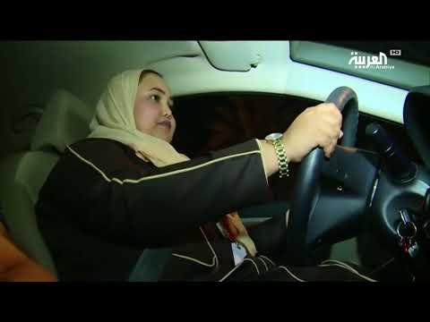 رنا عطوفه.. سعودية انطلقت بسيارتها عند 12:01 صباح الأحد التاريخي  - نشر قبل 1 ساعة