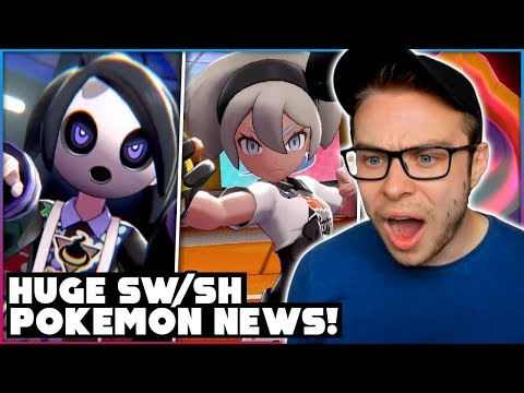 version-exclusive-gym-leaders,-gigantamaxing-and-more!-pokemon-sword-and-shield-trailer-reaction!