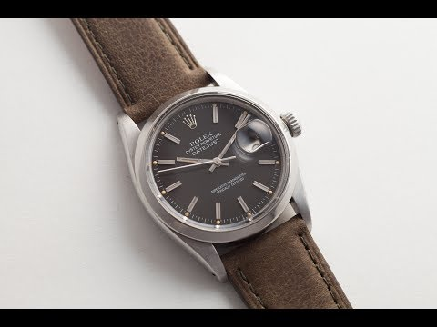 HANDS ON w/ A Rolex Datejust Matte Black Dial: LUG2LUG