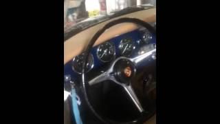 1964 Bali Blue Porsche 356C Sunroof Coupe