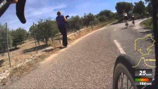 Ironman 70.3 Mallorca 2014 - Relay Bikesplit
