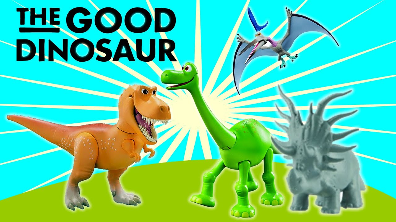 Triceratops The Good Dinosaur: Toy Dinosaurs Collection For Kids From The Good Dinosaur