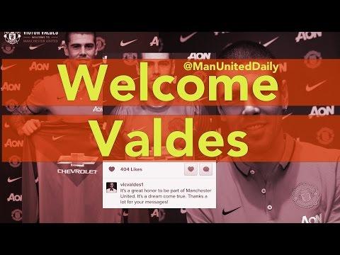 Welcome Victor Valdes