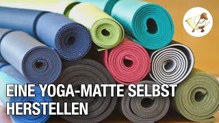 Lifehack: Eine Yoga-Matte selbst herstellen