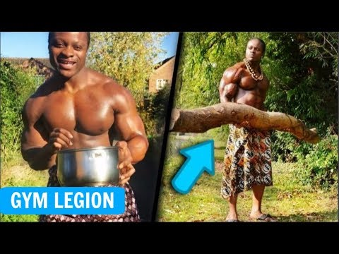 Best Natural African Bodybuilder Armz Korleone | Symmetry at its Finest