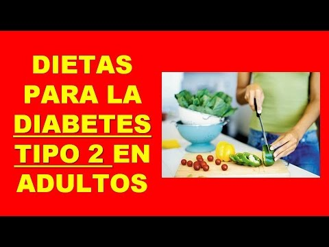 dieta para diabetes tipo 2 en adultos