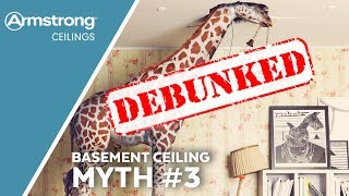 Basement Ceiling Myths Busted | Myth Three - Low Ceilings | Armstrong Ceilings for the Home