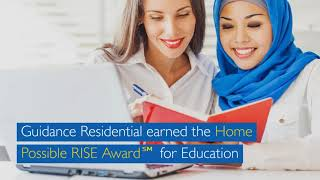 Guidance Residential Awarded HomeRISE Possible by for Education by Freddie Mac