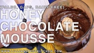 Honey Chocolate Mousse Frosting (paleo, Soy-free, Gaps, Dairy-free)
