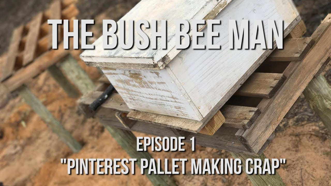 Building A Bee Hive Stand On The Cheap Episode 1