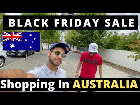 BLACK FRIDAY Shopping in AUSTRALIA | Indian Students