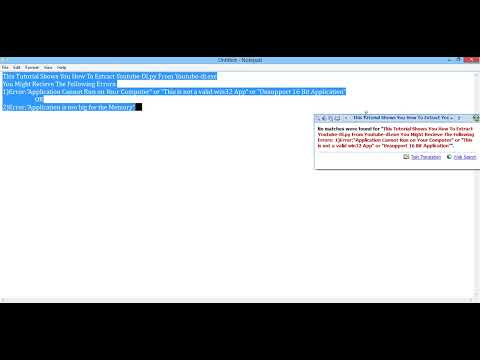 How To Extract Youtube Dl py From Youtube dl exe