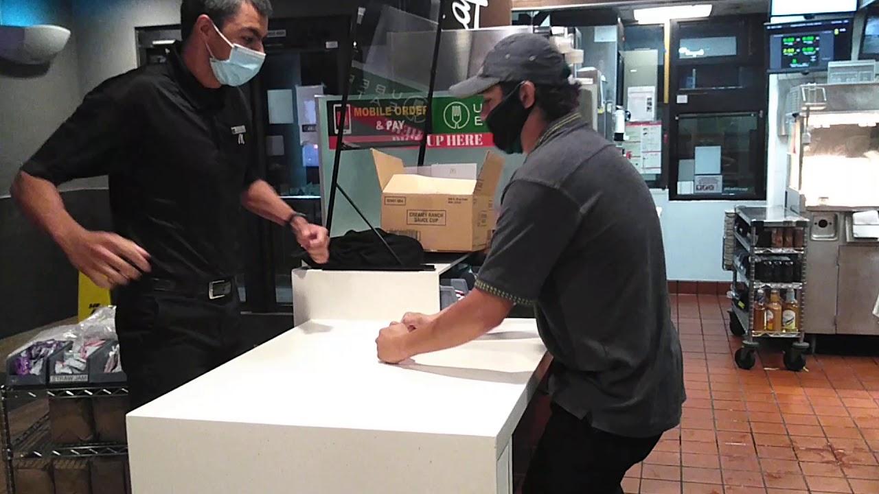 Arm Wrestling McDonald's Good Times