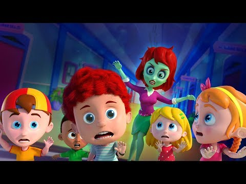 Run Schoolies Run | Halloween Cartoon Songs For Children | Videos by Kids Channel