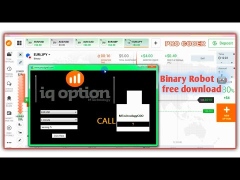 Binary Robot 🤖 free download 85%Acurate signal Pro Coder 21 January 2021