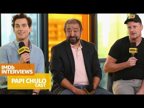 'Papi Chulo' Stars Matt Bomer And Alejandro Patiño Crack Up Toronto | TIFF 2018