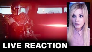 The Mandalorian Trailer REACTION