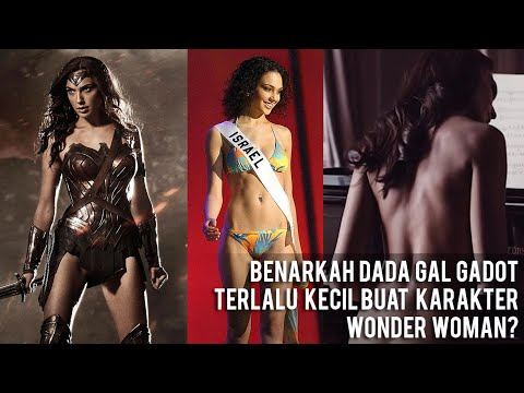 Benarkah Dada Gal Gadot Terlalu Kecil Buat Karakter Wonder Woman?