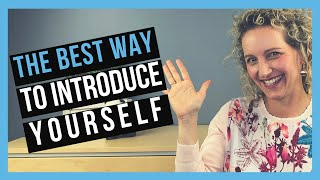 How to Introduce Youŗself Professionally
