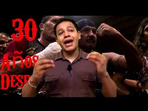 Julio Cesar Chavez Gonzales vs Mario Azabache Martinez pelean 30 años después