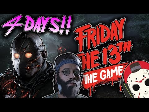 FRIDAY THE 13TH!!🔪 | 4 days til NEW DLC!! HYPE!! | 1080P | Interactive Streamer