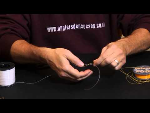 Tying A Standard Shock Leader Knot With Glyn Morgan