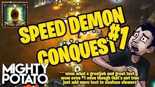 [Fluff] Diablo 3 - Speed Demon Conquest [51 Seconds]