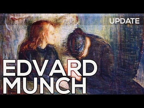 a biography of edvard munch [an] anxiety haunts the work of edvard munch, [that] is expressed with a formal  thus he considered his entire work as a single entity: the frieze of life.