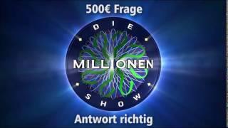 500€ Frage - Antwort richtig | Millionenshow Soundeffect