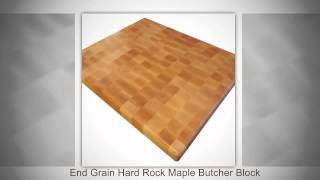 End Grain Hard Maple Butcher Block By Armani Fine Woodworking