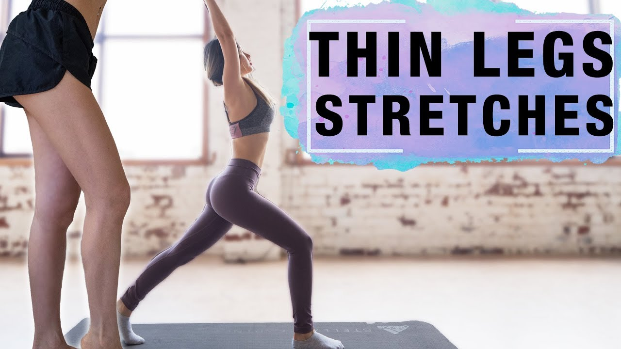 Stretches To Get Thinner Legs & Slim Thighs   50 Mins Routine