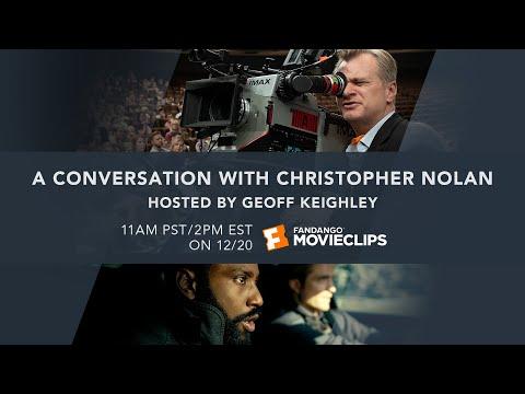 A Conversation With Christopher Nolan LIVE - Tenet Q&A