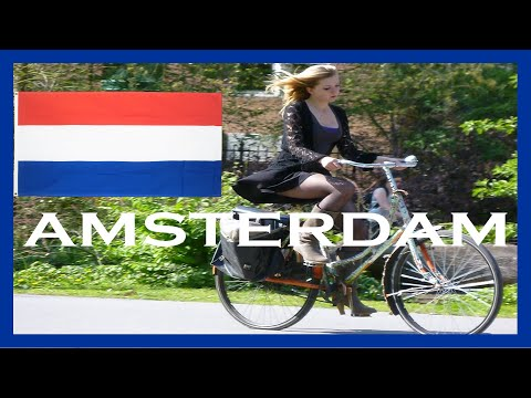(HD1706) 9 minutes in Amsterdam, Netherlands, Holland, Europe - GoPro