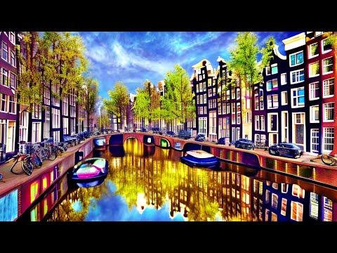 ✈️9 minutes in Amsterdam, Netherlands, Holland, Europe - CityTrip (HD1706)