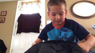 Roblox unboxing Book bag and lunch bag