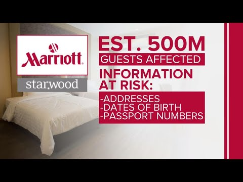 More than 500 million Starwood customers' data breached, Marriott says