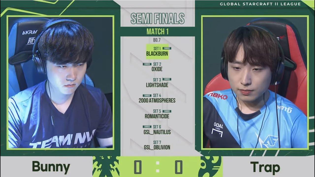 [2021 GSL S2] RO4 Match1 Bunny vs Trap