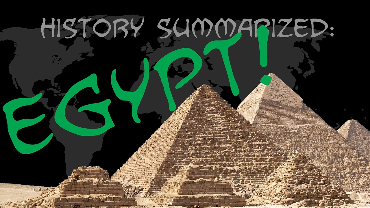 History Summarized: Ancient Egypt