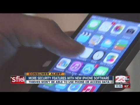 New IPhone security features makes hacking into phone harder
